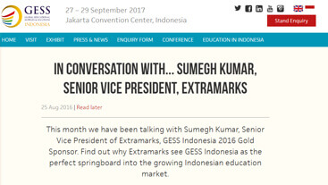 In Conversation with Sumegh Kumar, Senior Vice President, Extramarks
